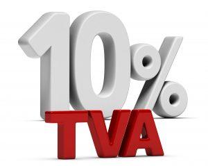 TVA Bâtiment : bénéficiez du taux réduit de 10%